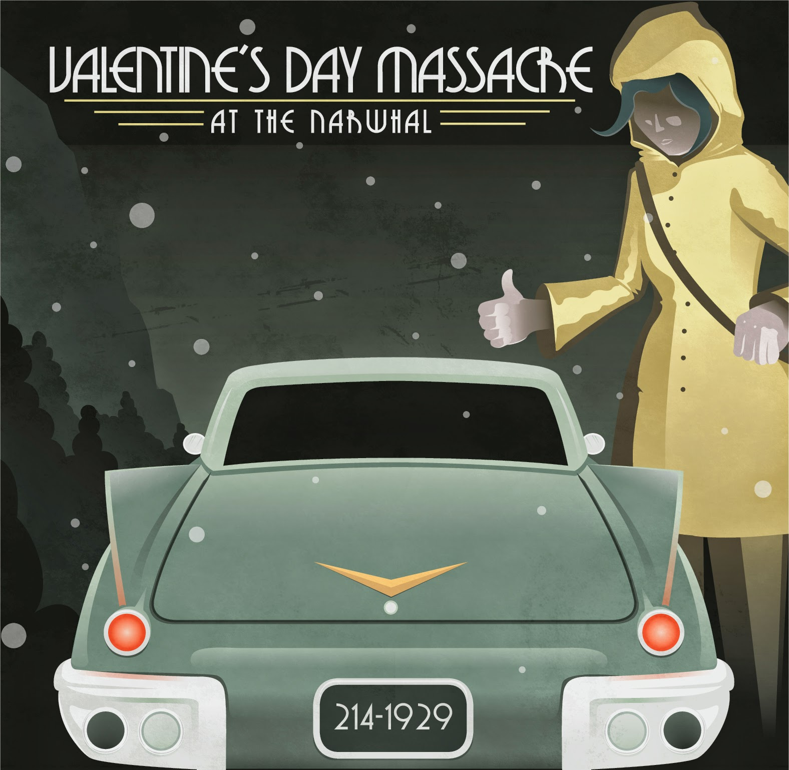 Valentine's Day Massacre at the Narwhal Audio Collection