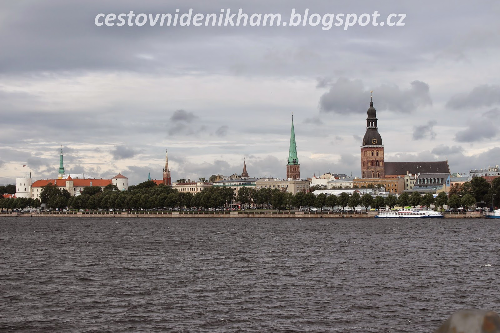 a view of Riga
