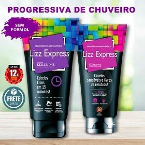Kit Lizz Express - Progressiva de Chuveiro