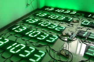 green price signs, led number display board