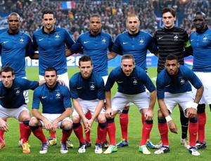 Seleção da França está no Grupo D da Euro Copa 2012
