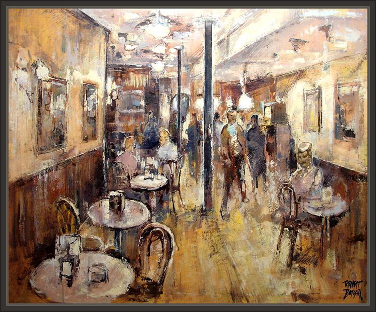 Pintura Cuadros Fotos Ernest Descals Cafe Madrid