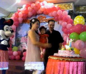 Armada badut surabaya clown and decoration moment b 39 day party for B day decoration
