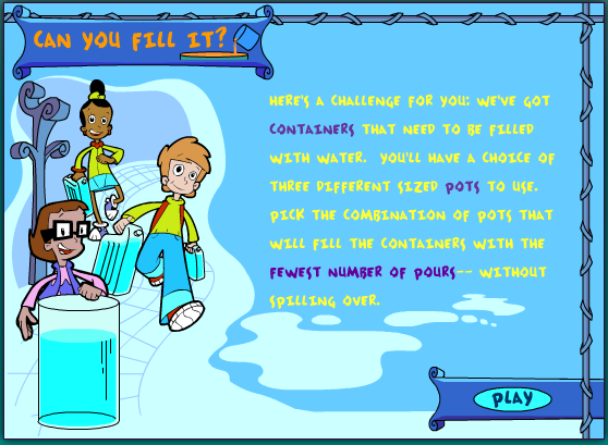 http://pbskids.org/cyberchase/math-games/can-you-fill-it/