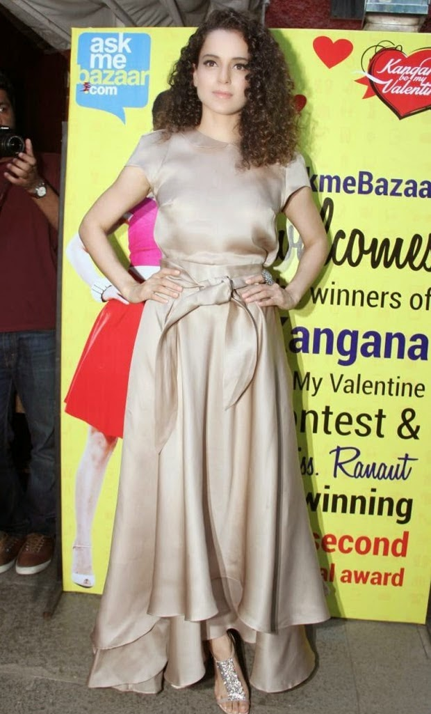 Kangana Ranaut at Meets and Greets Ask Me Bazaar Contest Winners Event