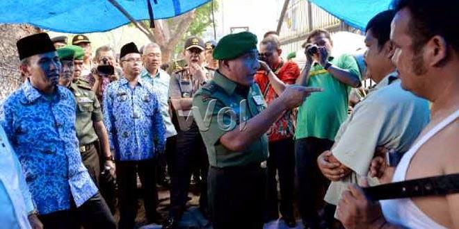 Pangdam I/BB Bubarkan Warga Pasang Tenda di DPRD Sumut