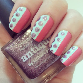 tiffany-watermelon-antique-picture-polish-blogfest-rehash-nails