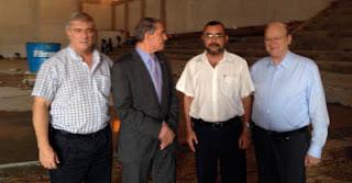Hassan Moustafa, presidente IHF, de visita en Paraguay