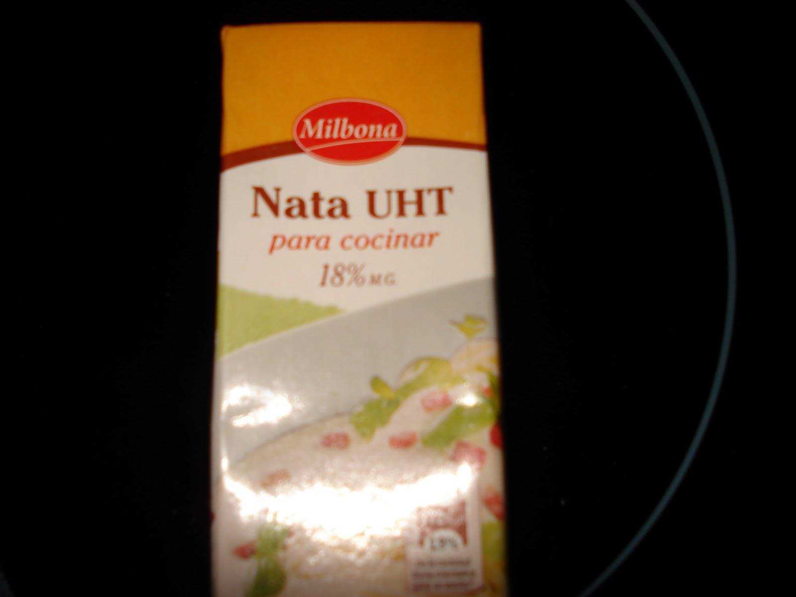 A comer que ya es hora productos aptos dieta montignac - Nata para cocinar mercadona ...