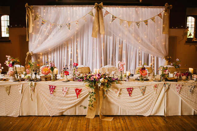 Bolton school wedding for lauren graeme with an old school theme the top table was a combination of all of the subjects junglespirit Image collections