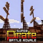 1.7.10/1.7.9/1.7.2 Minecraft Mods Super Pirate Battle Royale Map