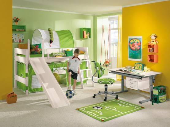 Funny Kids Bedroom Decor - Home Decorating Photos