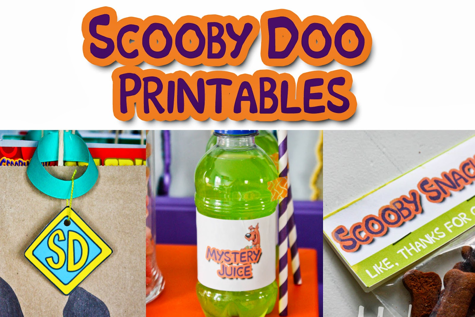 Free Printable Friday Scooby Doo Printables vixenmade parties