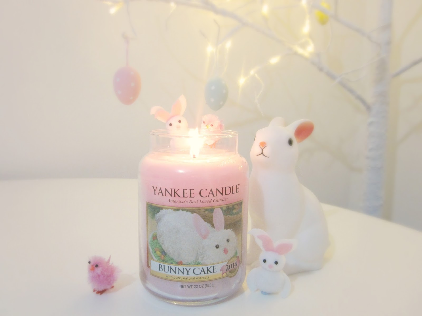 Yankee Candle Bunny Candle review easter
