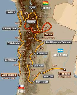 Rally Dakar - Dakar Por Bolivia - Dakar 2014 - Rutas del Dakar 2014 - Bolivia - Uyuni