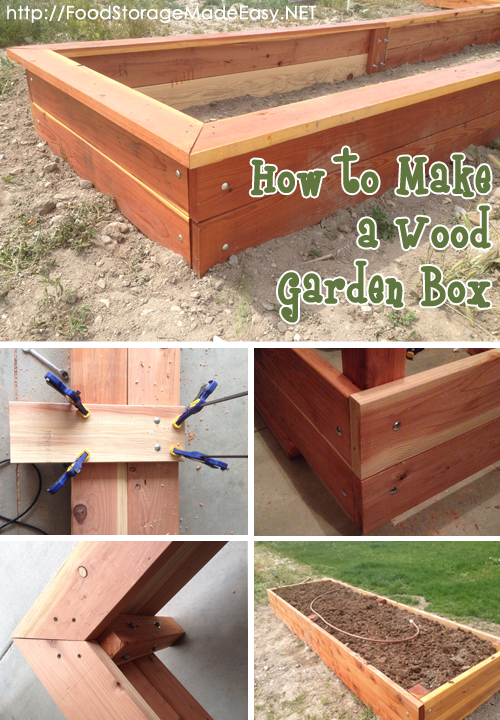 Vegetable gardening with mike the gardener how to build a How to build a vegetable garden box