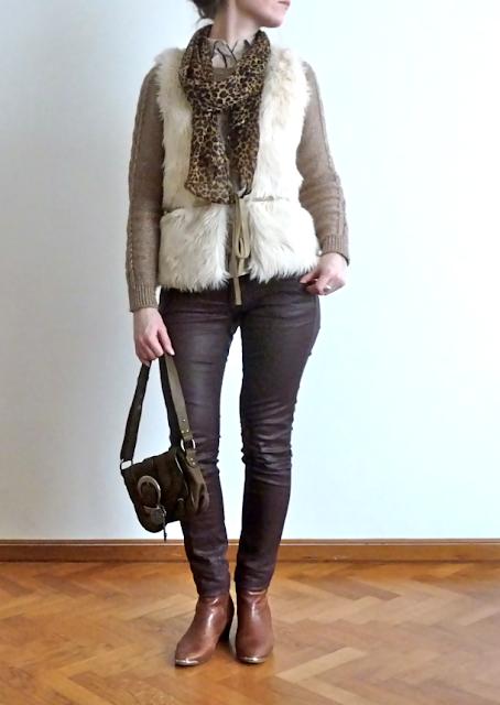 Look Street Style Ootd Fashionblog  Freeman T. Porter Camaïeu H&M Jonak Dior