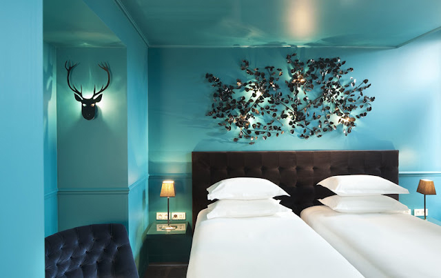 Interiors by the city hotel original by stella cadente for Hotel design original paris