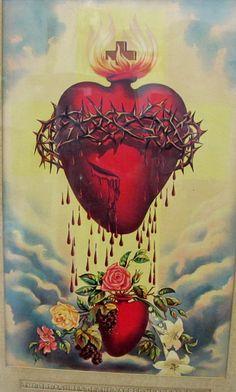 Sagrado Coração de Jesusregando