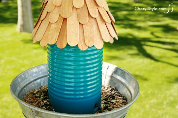 pop bottle bird feeder instructions