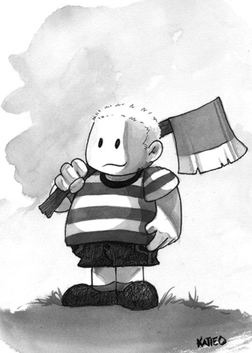 Pugsley Addams por Katie-O