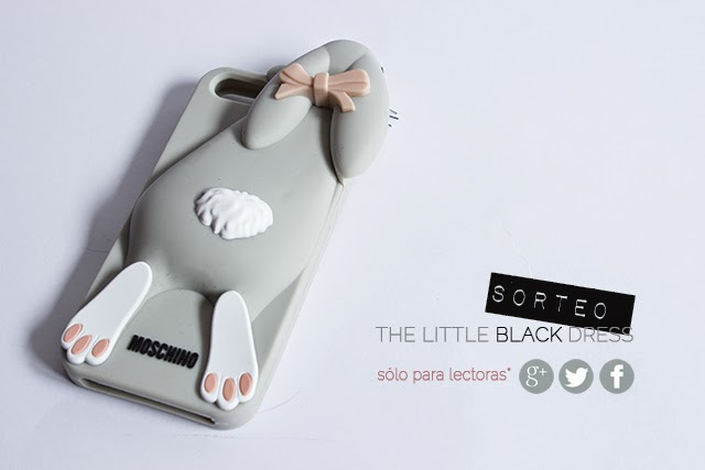 sorteo funda para iphone de moschino bunny