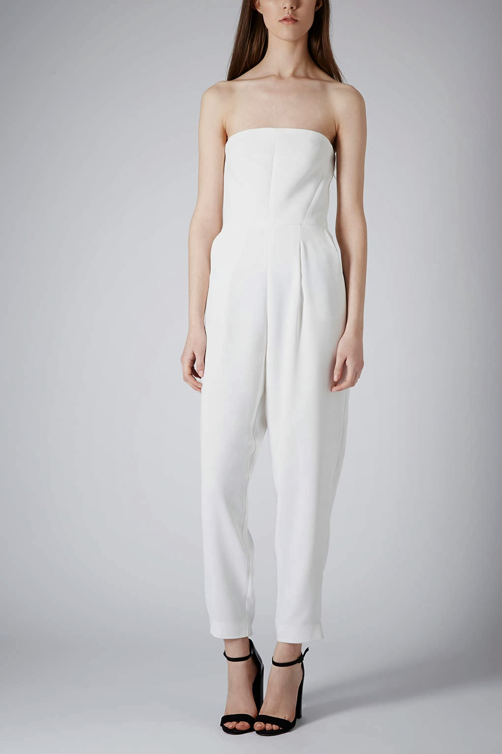 topshop white jumpsuit