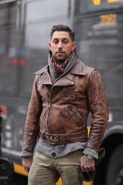 Matt Winter Designs Seattle street style fashion it's my darlin' leather motorcycle jacket