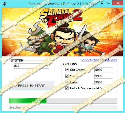 onegame: Samurai vs. Zombies Defense 2 Hack Tool
