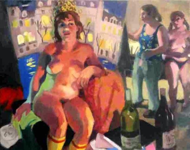 Провокационные и чувственные картины. Wendy Sharpe