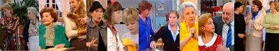 Escenas de la serie de TVE Hostal Royal Manzanares de Lina Morgan