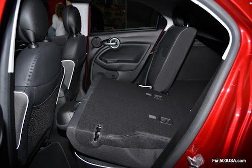 Fiat 500X 60/40 Rear Seat