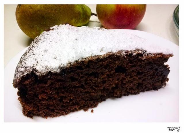 Bizcocho, chocolate, fácil, jugoso, postres, recetas caseras, recetas, almíbar