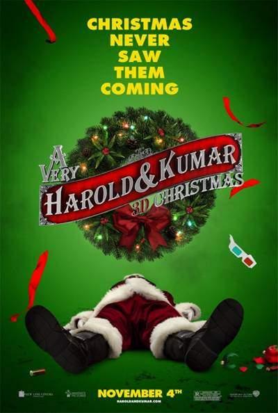 La Navidad 3D de Harold y Kumar DVDRip Latino