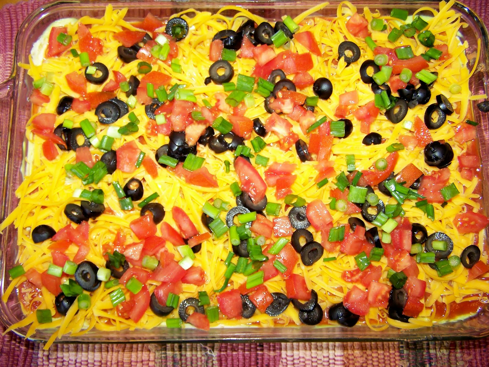 Diary of a Recipe Addict: Mexican Layer Dip