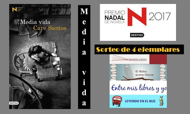 Sorteo El Búho entre libros, Entre mis libros y yo, Leyendo en el Bus y  De lector a lector.