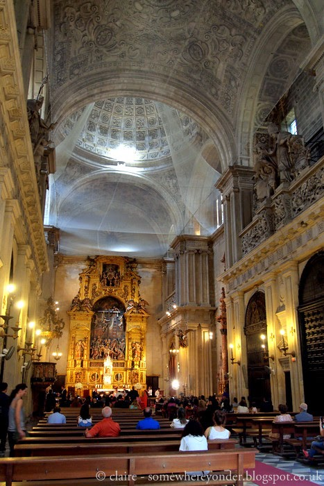 A wedding in the Cathedral of St. Mary - Seville