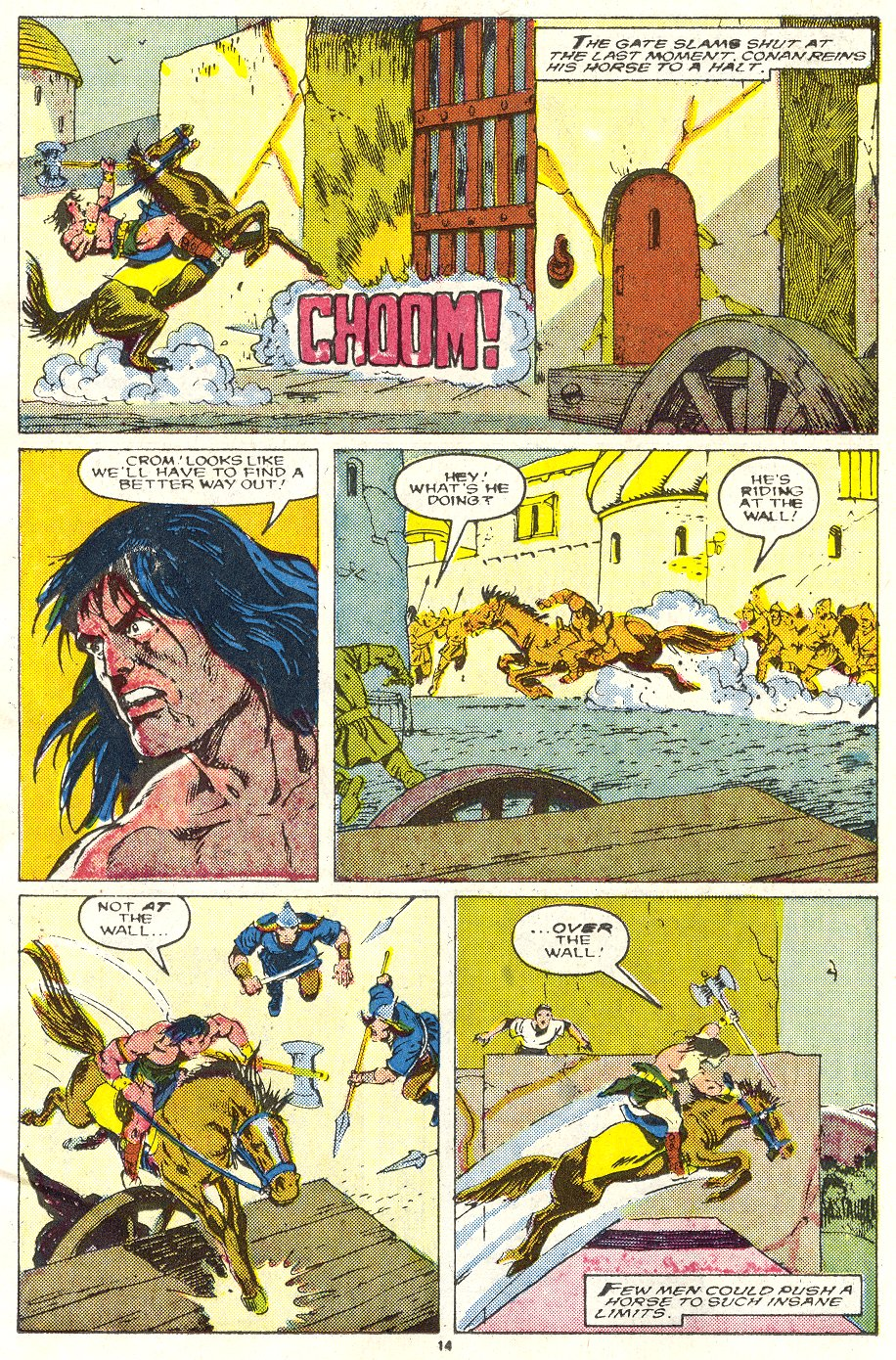 Conan the Barbarian (1970) Issue #219 #231 - English 11