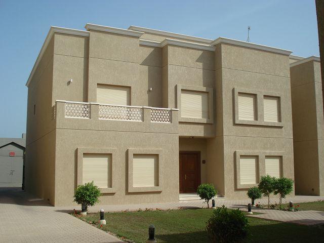 : واجهات منازل بالكويت : منازل