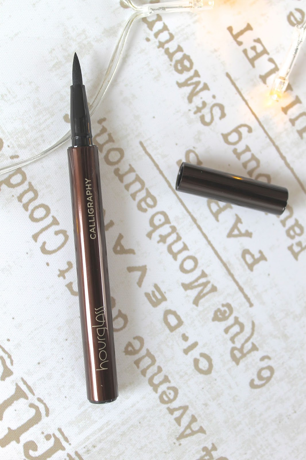 Hourglass Calligraphy Eyeliner blog review