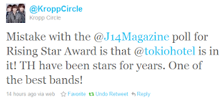 Kropp Circle mentions Tokio Hotel again on Twitter 50cf3f2409e1