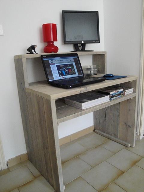 La planche brute sp cialiste du meuble en bois recycl - Faire un bureau avec une planche ...