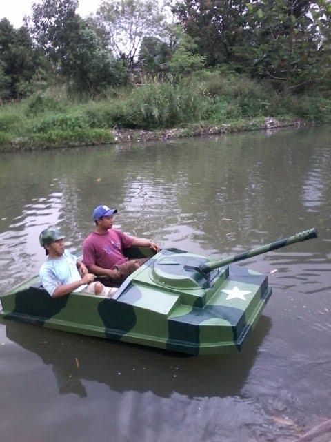 Sepeda air model baru