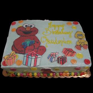 Cheap Elmo Birthday Cakes