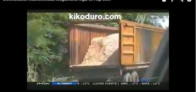 Deforestacion indiscriminada en RD legalmente inlegal
