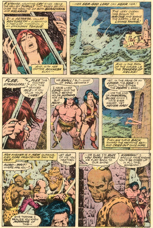 Conan the Barbarian (1970) Issue #71 #83 - English 16
