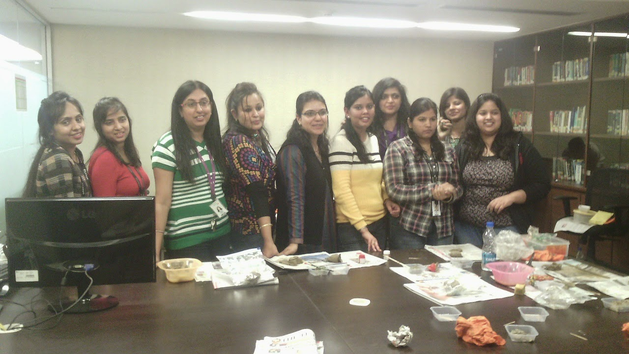 Pottery Workshop for Team Building and Fun Activity of employees