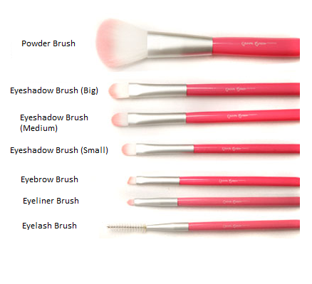 beauty review cerro qreen cosmetic makeup brush set