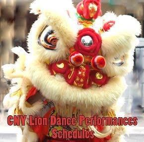 Lion Dance Performances in Singapore