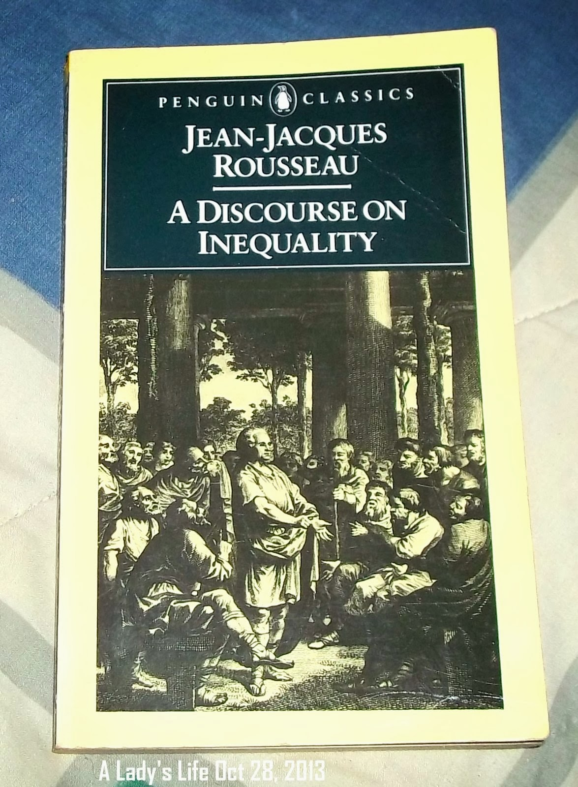 a discourse on inequality This detailed overview of jean-jacques rousseau's discourse on the origin and the foundations of inequality is an example of some of the minds-exclusive content i will be producing in the future.